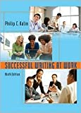img - for Successful Writing at Work 9th (nineth) edition Text Only book / textbook / text book
