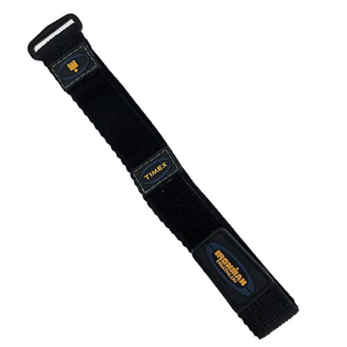 Timex Men's Q7B815 Ironman Sport Wrap 16-20 Black and Blue Replacement Watchband