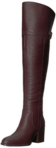 Franco Sarto Women's Ollie Over The Knee Boot, Dark Burgundy, 6.5 M US by Franco Sarto