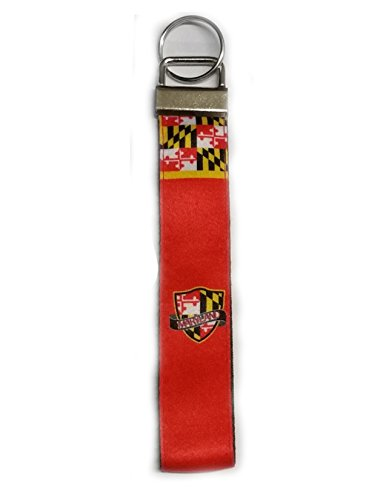 Key Chain/Mini Lanyard - MD Flag Pattern with Shield