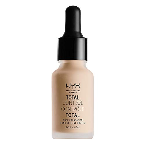 NYX PROFESSIONAL MAKEUP Total Control Drop Foundation, Vanilla, 0.43 Fluid Ounce