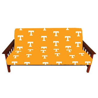 - College Covers Tennessee Volunteers Futon Cover, Team Colors