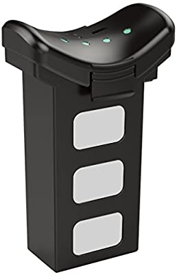 ProMark Drone Battery 2,500 mAh Lithium-Ion Battery - LED Indicator Lights - 6 Hours Charging Time - Real Time Battery Monitoring with GPS App - Micro-USB Charging Port by PROMARK