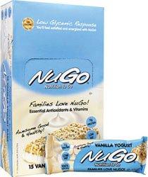 NuGo Nutrition NuGo Nutrition To Go Vanilla Yogurt -- 11 g - 15 Bars