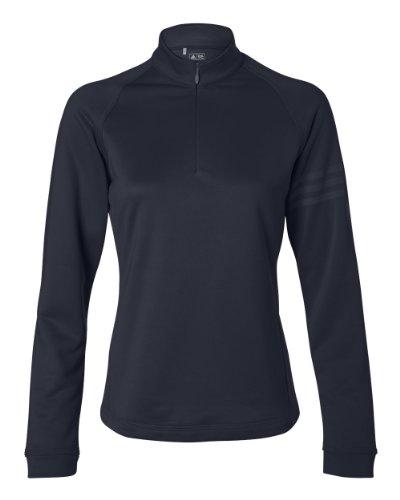 (A175 Adidas Women's Performance Half-Zip Training Top - Navy - X-Large)