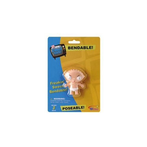 (Family Guy Stewie in Diaper Bendable Figure )