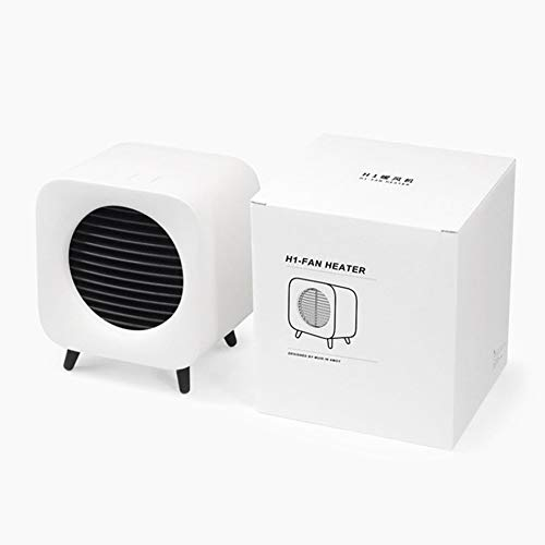 (Mini Fan Heaters Portable Bedside Fan Heater Retro Electric Heater 220v 700w)