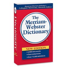 Merriam-Webster's Paperback Dictionary