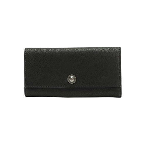 FRYE Melissa Snap Vintage Wallet,Black,One Size