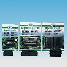 JBL 6129300 Scheiben-Reinigungsmagnet für 15 mm dicke Aquarienscheiben, JBL Algenmagnet L, 61294