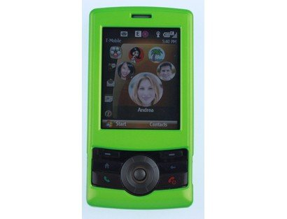 - Hard Plastic Neon Green Phone Protector Case For T-Mobile HTC Shadow