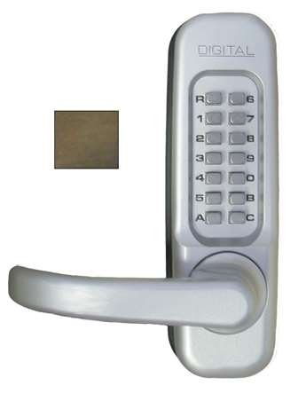 Digital Door Lock 1150 Heavy-Duty Lever, Oil Rubbed Bronze Left Handed