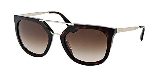 Prada SPR13Q Cinema Sunglasses Havana w/Brown Gradient (2AU-6S1) PR 13QS 2AU6S1 54mm ()