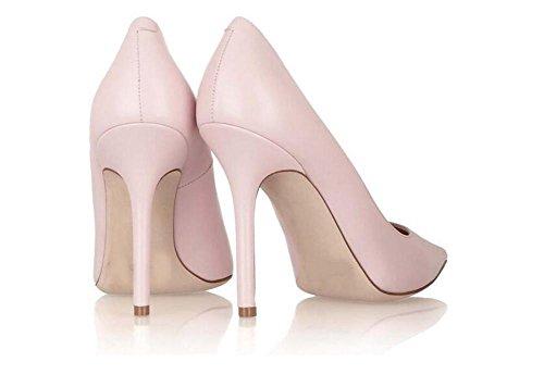Pointes Femmes Pointé Boîtes de Fines Hauts Nuit Chaussures xie Talons Cuir Chaussures Hauts AOBqOwp