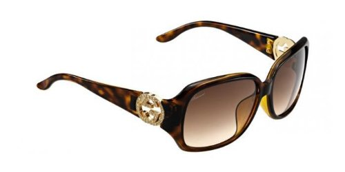 Amazon.com: Gucci GG 3592/F/S HAVANA anteojos de sol con ...