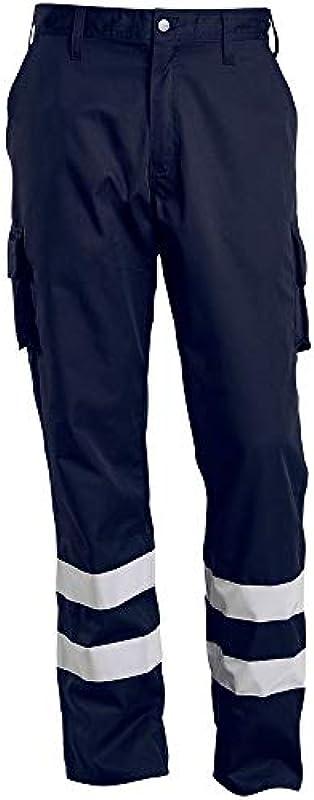 Mascot MacMichael spodnie robocze 17979-850 Workwear - męskie, kolor: czarny niebieski , rozmiar: 82C54: Odzież