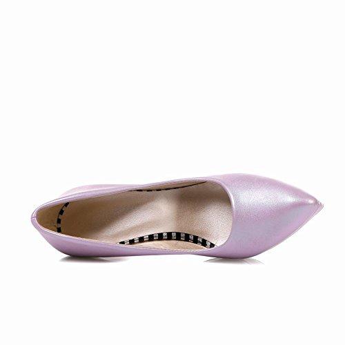 Heel High Womens Purple Pointed Pumps Latasa Dress toe Fashion 1w6IqXIxFP