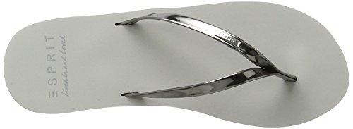 Esprit Light Mirror Gunmetal 045 Femme Alice Tongs Gris wqSrwRH