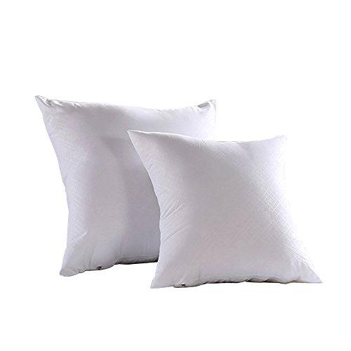 Oxfox Pillow Insert Square Poly Fill Hypo-Allergenic Decorative Sham 16''x16''