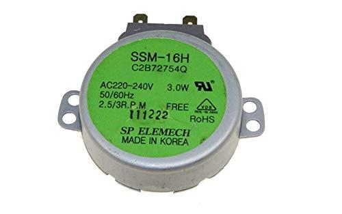 Motor - Plato giratorio ssm-16h referencia: 2b72754q para ...