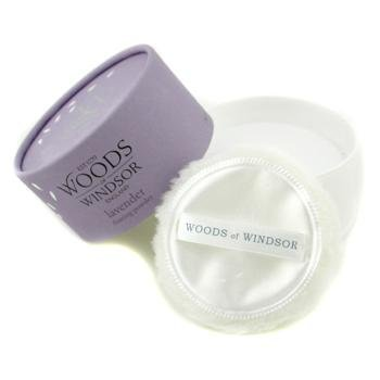 Lavender by Woods of Windsor for Women Body Dusting Powder With Puff by Woods of Windsor