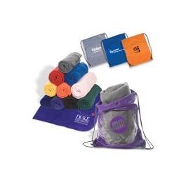 AYWP Blanket-Bag Combo 25 Quantity- $16.75 Each/Promotional Product/Bulk with Your Logo/Customized