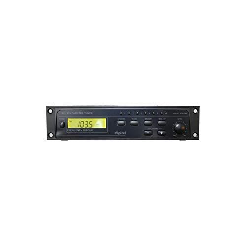 롤 HR78X 디지털 AM   FM 튜너 XLR 출력 블랙 1.70X9.00X6.75