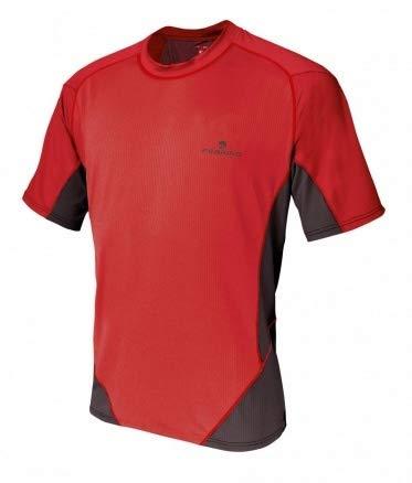 Ferrino T-Shirt Glasshouse Herren rot/schwarz Größe M - M