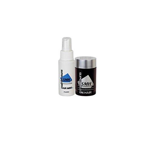 Super Million Hair Trial Set Hair Enhancement Fibers & Hard Mist (Medium Brown)