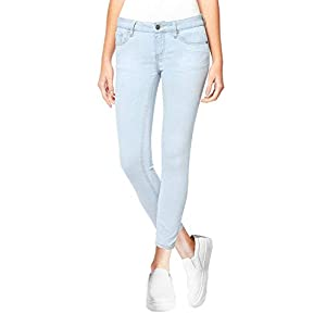 Buffalo David Bitton Women's Mid-Rise Super Soft Capri Jeans