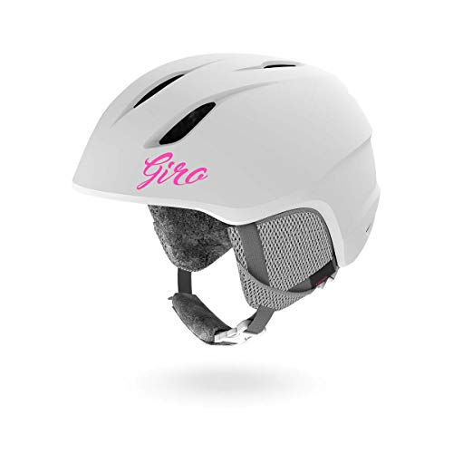 Giro Launch Kids Snow Helmet Matte White SM 52-55.5cm