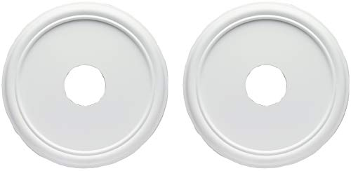 Westinghouse 16-Inch Smooth White Finish Ceiling Medallion (2 ()