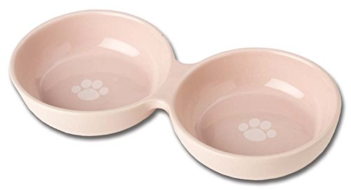PetRageous 91430 1 Cup Pink Wubby's Duo Diner Bowl
