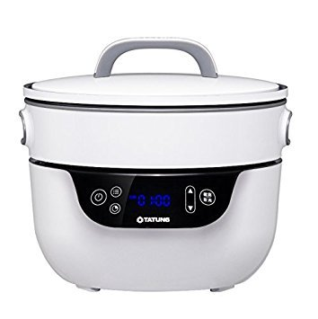 Tatung TSB-3016EA Fusion Cooker Grill Pan & Waterless Pot-4 Cooking Modes, Soup, Bake & Waterless Cook, 9