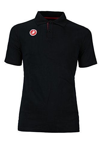 自動化ベンチ荒らすCastelli Race Day Polo Shirt – Men 's