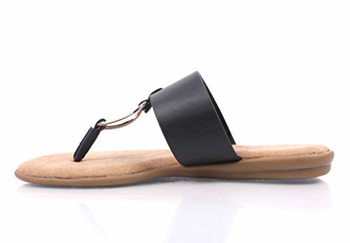 Sandali Infradito In Bambù Con Infradito Infradito Con Zeppe Completamente Imbottite