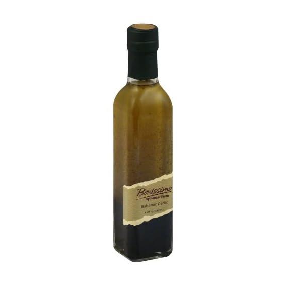 Glass Benissimo Oil, Balsamic Garlic, 8.1 Ounce 1
