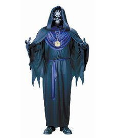 FunWorld Emperor Of Evil Complete, Black/Burgundy, One Size (Medevil Dresses)