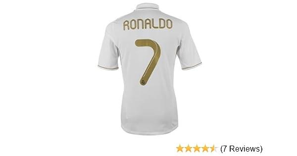 1947b763321 Amazon.com : Ronaldo Real Madrid 11/12 Home Soccer Jersey Size Small :  Sports Fan Jerseys : Sports & Outdoors
