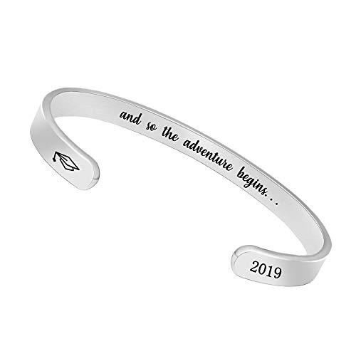 Bangle Bracelets Birthday Gifts for Women Men Inspirational