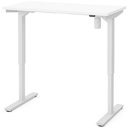 Electric Height Adjustable Table in White