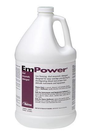 Metrex Research 10-4100 Metrex Empower Dual Enzymatic Detergent, 4 Per Case by Metrex