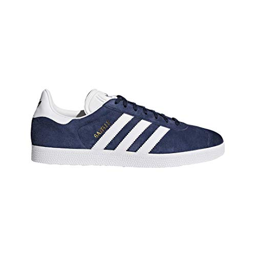 Adidas Originals Men's Gazelle Lace-up Sneaker,Collegiate Navy/White/Gold Met.,10.5 M US