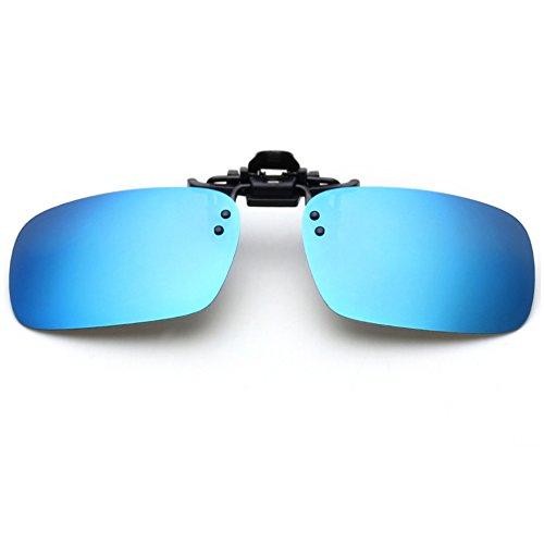 Tacloft Rectangle Sunglasses Driving CLIPON001 product image
