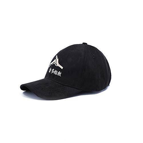 (2018 personalized text embroidered base visor aberdeen couple lover cap funds (black)