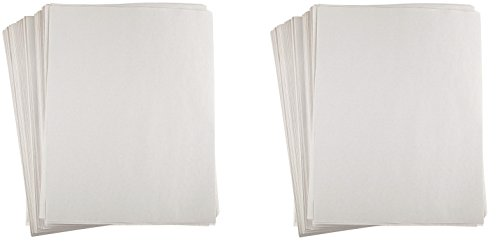 Sax Plain White Newsprint Newspaper - 8 1/2 x 11 inches - Pack of 500 - White (Set of 2) by Sax