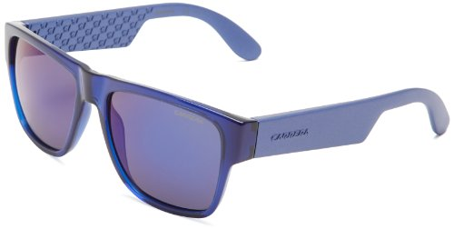 Carrera Ca5002s Rectangle Sunglasses,Blue,55 - Virtual Sunglasses