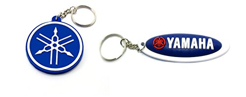 Yamaha Rubber Keychain Ring Circle