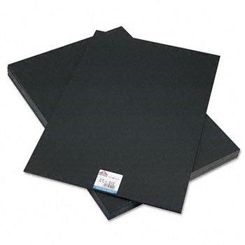 Elmers 951120 20'' X 30'' X 3/16'' Black Foam Board