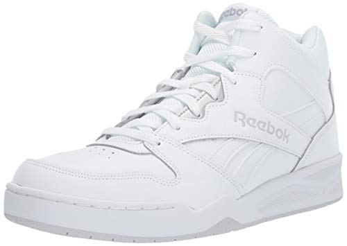 Reebok Men's Royal BB4500H2 XE Sneaker, White/Light Solid Grey, 11 M US